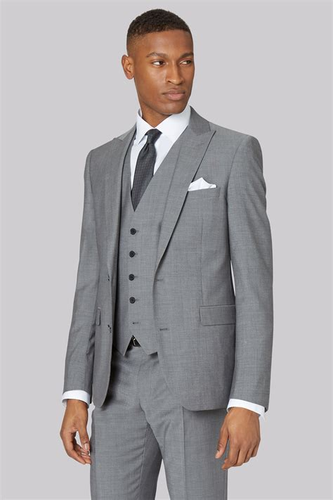 light grey slim fit suit dkny mens slim fit light grey 3 suit ebay