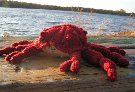 crab knitting pattern the deadliest crab knitty summer 2009