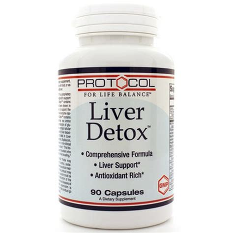 Detox International Laboratories by Protocol For Balance Liver Detox Amino Acids Formula
