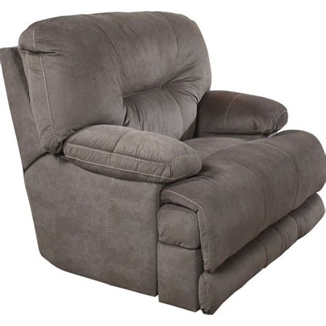 catnapper power recliners catnapper noble power lay flat fabric recliner in slate