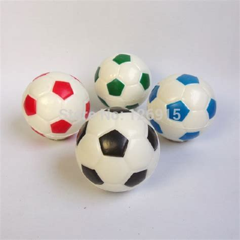 Small Soft Rubber Balls by Free Shipping 6cm Football Toys Soft Rubber Small