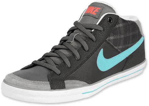 nike mid sneakers nike ii mid shoes black blue