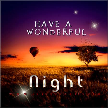 wonderful night  graphics quotes comments images   myspace facebook