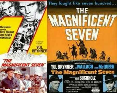 theme song magnificent seven the magnificent seven elmer bernstein youtube