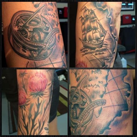 travel themed tattoos 21 best sm tatttoos images on ideas