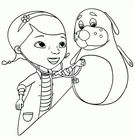 imagenes para colorear la doctora juguetes doctora juguetes para colorear pintar e imprimir