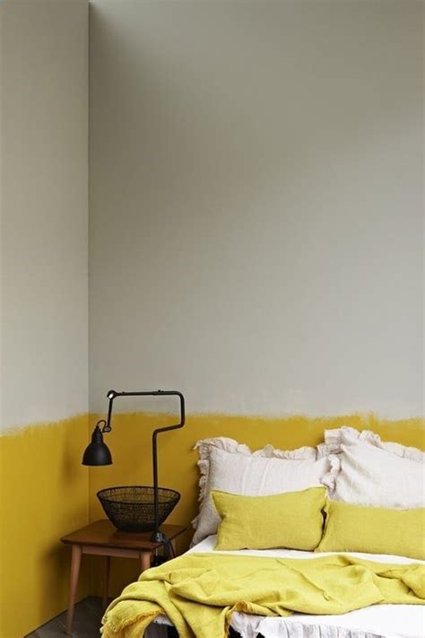 Yellow Painted Bedrooms by 20 Inspiring Half Painted Wall Decor Ideas Home Design