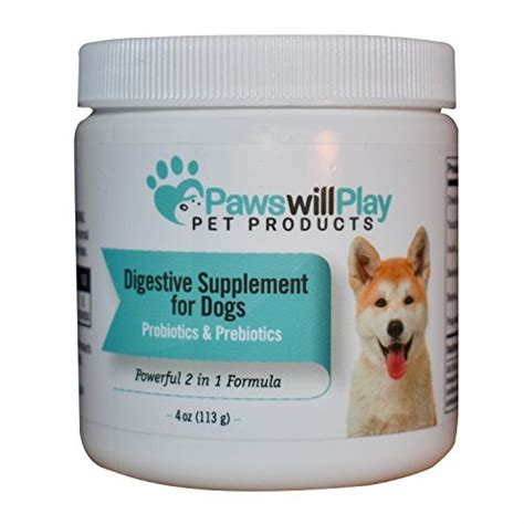 probiotic for dogs 100 naturally derived probiotic for dogs with added prebiotic 2 in 1 usa
