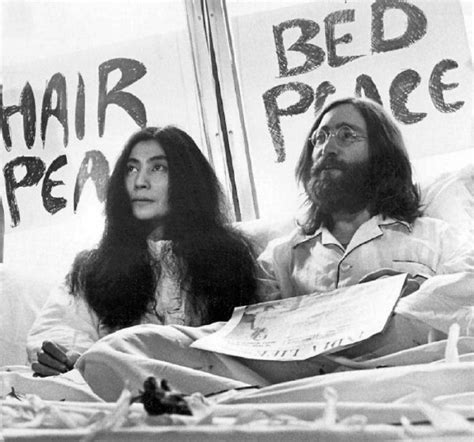 john lennon bed in yoko puts new lennon bed in documentary online toronto star