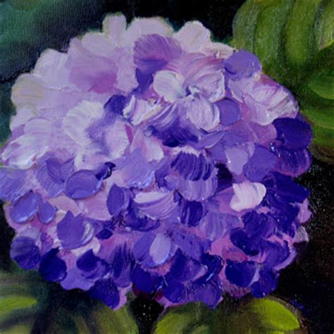 nel s everyday painting triple hydrangeas and a lesson sold nel s everyday painting hydrangea bloom sold