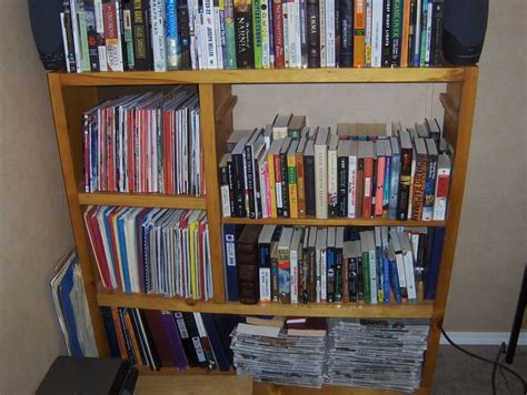 a changing bookshelf