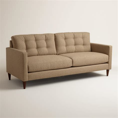 world market settee chunky woven ryker upholstered sofa world market