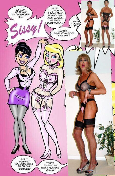 forced feminization comic forced sissification gay and girly pinterest femdom
