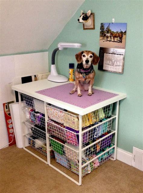 cheap craft room storage ideas diy cheap easy fabric storage station craft room ideas