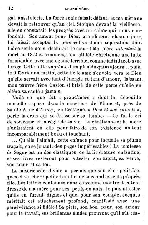 Lettre De Remerciement Grand Mere Page S 233 Gur Lettres D Une Grand M 232 Re Djvu 12 Wikisource