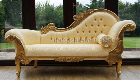 ornate chaise lounge ornate medium french style medium chaise longue gold free