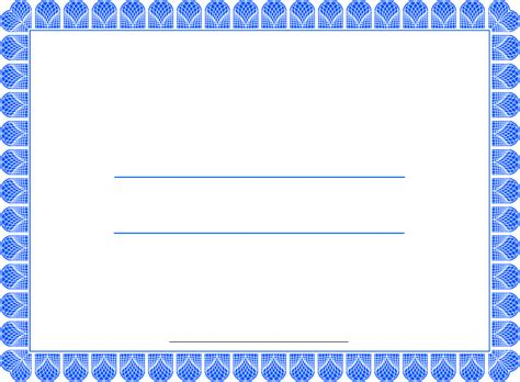 blank certificate template word printable certificate templates new calendar template site