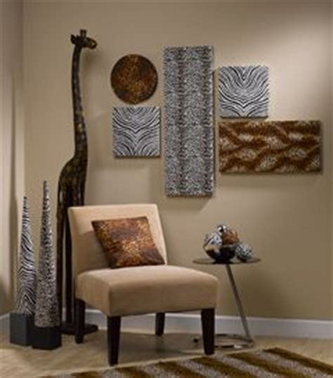 fantabulous safari themed living room with zebra chairs framed 1000 images about african home decor on pinterest