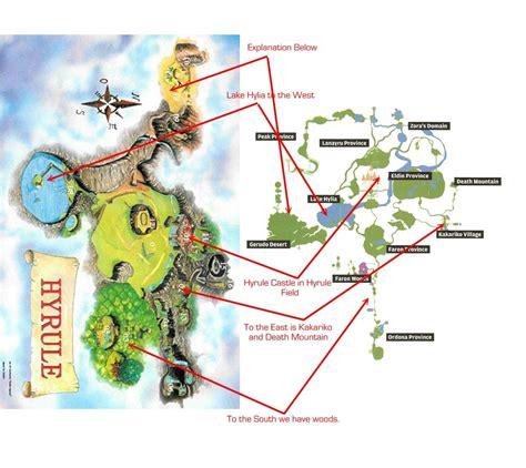 Legend Of Zelda Map Comparison | legend of zelda map comparison photo lozmaps jpg zelda