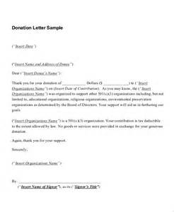 sample letter giving a gift 3