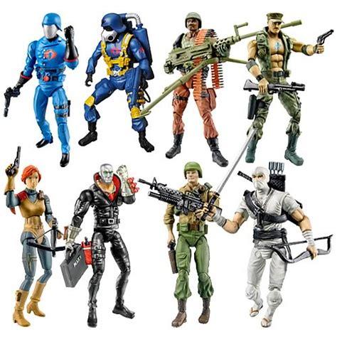 Jo In Sound Toys g i joe 25th anniversary figures wave 4 hasbro