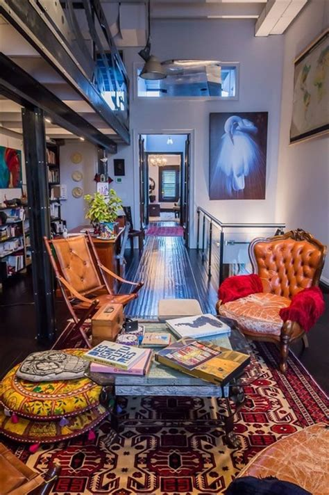 my place family room toronto loft my place eclectic living room toronto by pekota design