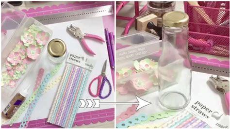 Handmade Paper Album - how to make a mini album an juice bottle using