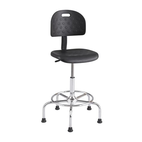 Working Stools by Safco Soft Tough Economy Industrial Office Work Stool 6950bl