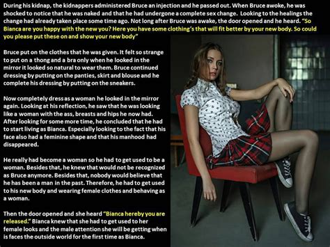 forced tg caption kidnapped kidnapped drugged and forced feminization tg caption