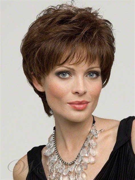 short cap like women s haircut elegant synthetic wigs 50 79 new arrival soft cap