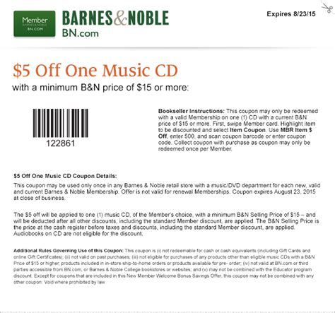 music bed coupon code code for barnes and noble free printable coupons barnes