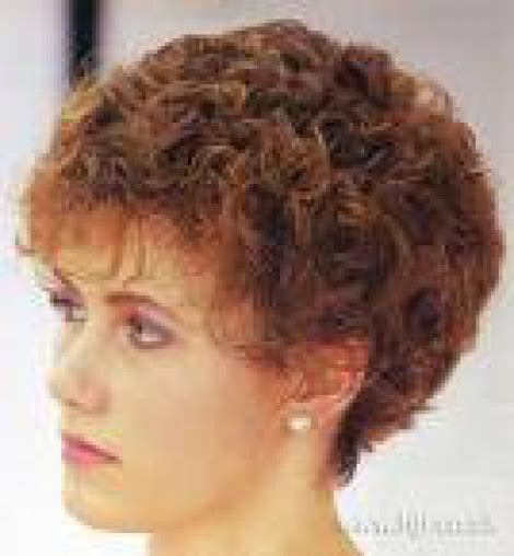 tight perms hair on old woman classic perm short springs hair design