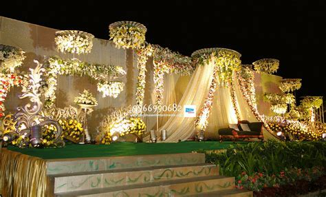 reception decorations in hyderabad   Shobha's Entertainments