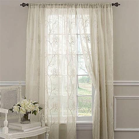 laura ashley drapes buy laura ashley 174 frosting 84 inch window curtain panel in