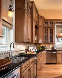 waypoint kitchen cabinets waypoint style 610d in maple mocha glaze bath kitchen
