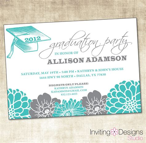 free invitations templates graduation invitation templates microsoft word gangcraft net