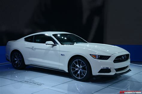 ford mustang year new york 2014 ford mustang 50 year limited edition gtspirit