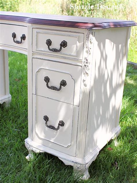 white chalk paint furniture ideas shizzle design antique vanity painted in custom mixed