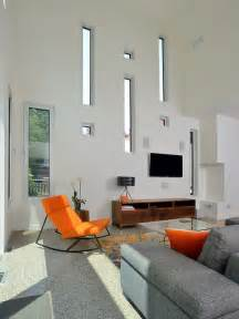 orange living room chair orange accent chairs home design ideas pictures remodel and decor