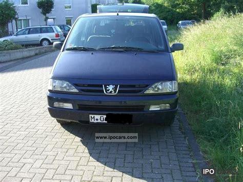 peugeot van 2000 2000 peugeot 806 car photo and specs