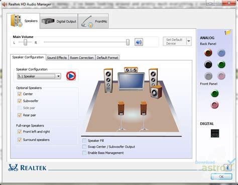 format audio realtek realtek hd audio drivers latest version 2018 free download