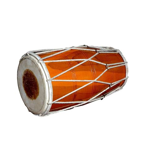 Handmade Instrument - sg musical handmade wooden dholak indian folk musical