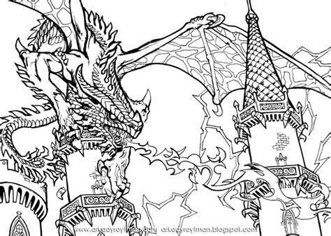 dragons coloring pages knights and dragons coloring pages