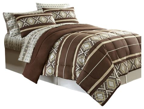 houzz comforters shavel home products reindeer stripe micro flannel