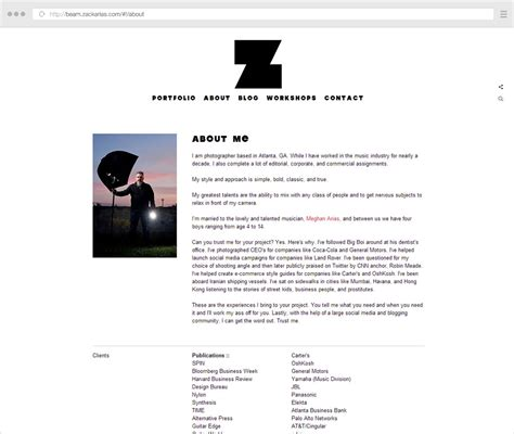 about me page template the complete guide to writing your photographer about page