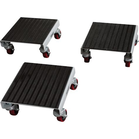 small moving dollies roughneck 3 pack utility dolly set 1 500lb capacity