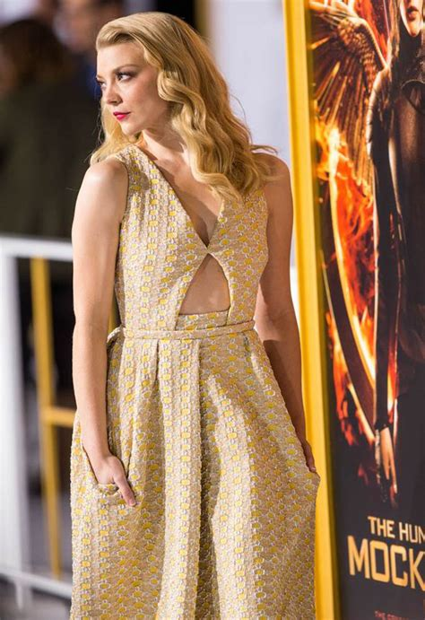 Natalie Dormer In Hunger Natalie Dormer Dazzles In Yellow Frock At The Hunger