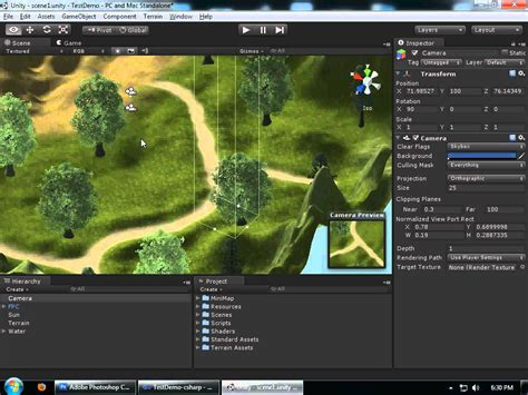 unity best layout creating a basic minimap in unity 3d part1 youtube