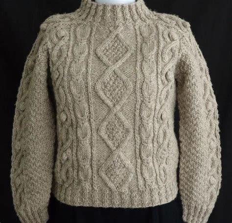 free knitting patterns for aran wool aran sweater patterns sweater jacket