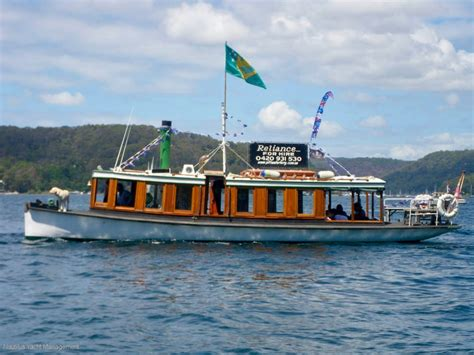 old ferry boat used hawkesbury river ferry in commercial survey 1e for
